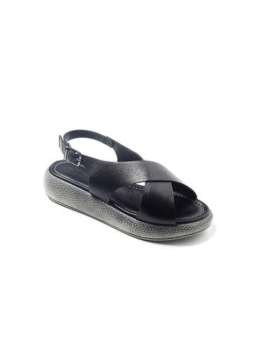 John May Spor Sandalet Siyah